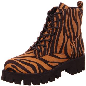 SPM Shoes & Boots Schnürboot beige