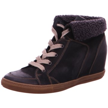 Paul Green Sneaker Wedges schwarz