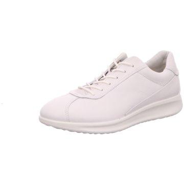 Ecco Sportlicher Schnürschuh weiß