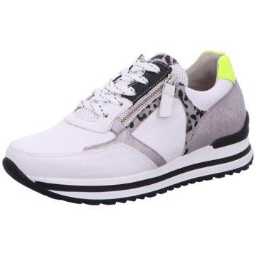 Gabor comfort Plateau Sneaker weiß