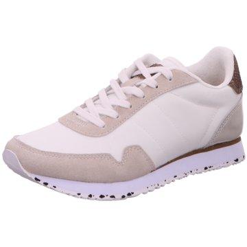 Woden Sneaker Low weiß