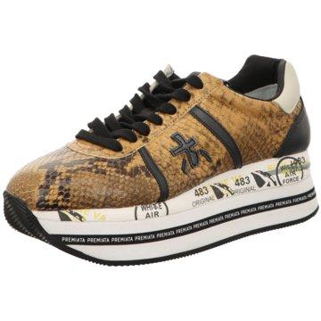 Premiata Plateau Sneaker braun