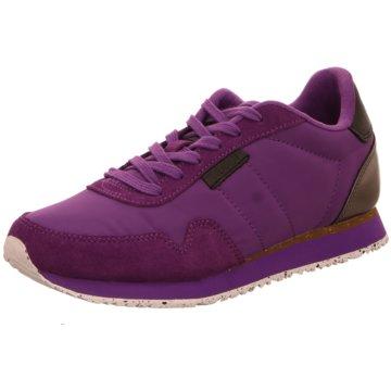 Woden Sneaker Low lila