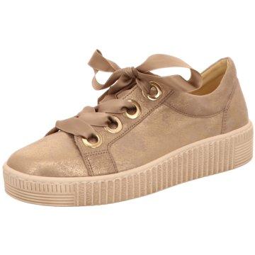 Gabor Plateau SneakerSneaker gold