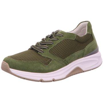 Gabor comfort Sportlicher Schnürschuh grün
