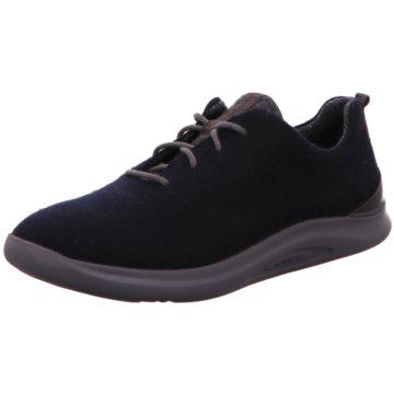 Ganter Sportlicher Schnürschuh blau