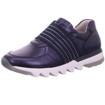 Gabor comfort Sportlicher Slipper blau