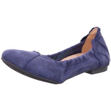 Think Faltbarer Ballerina blau