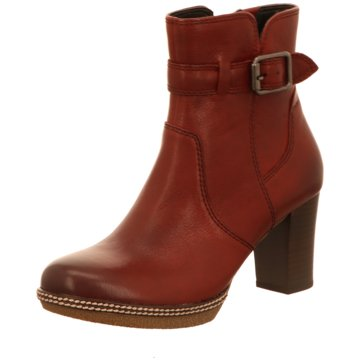 Gabor comfort Klassische Stiefelette rot