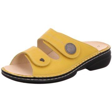 FinnComfort Komfort Pantolette gelb