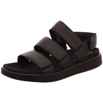 Ecco Komfort Sandale schwarz