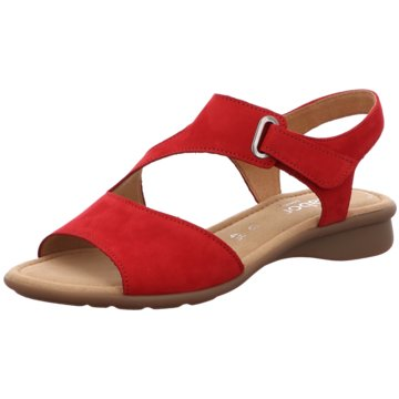 Gabor comfort Komfort Sandale rot