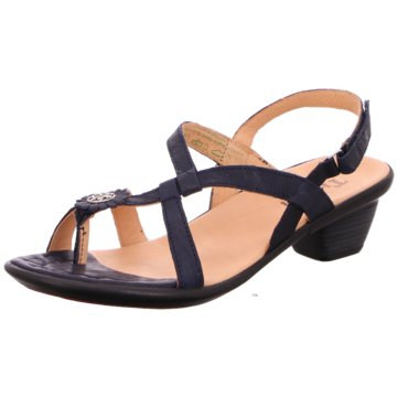 Think Komfort Sandale blau