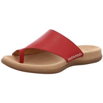 Gabor Komfort Pantolette rot