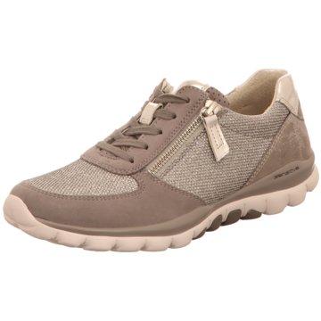 Gabor comfort Sportlicher SchnürschuhSneaker grau