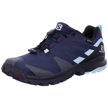 Salomon TrailrunningSchuhe XA ROGG GTX W DARKDE/Bk/Icy blau