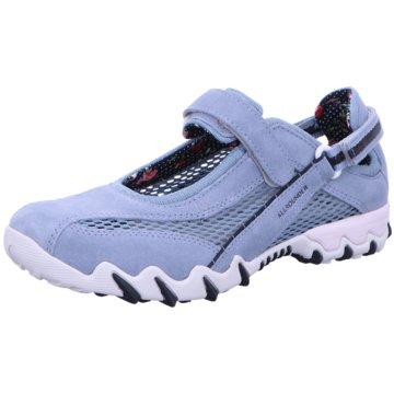 Allrounder Komfort SlipperSneaker blau