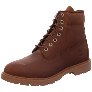 Timberland Schnürboot6in Basic Non-contra braun