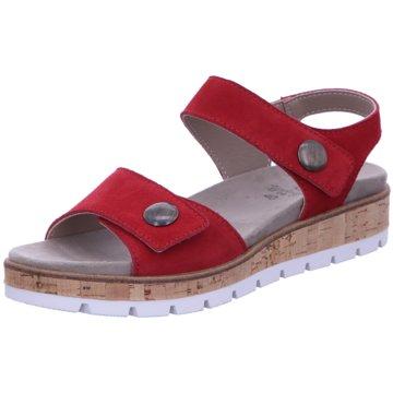 Longo Komfort Sandale rot