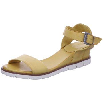 MACA Kitzbühel Komfort Sandale gelb