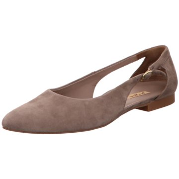 Paul Green Top Trends Ballerinas grau