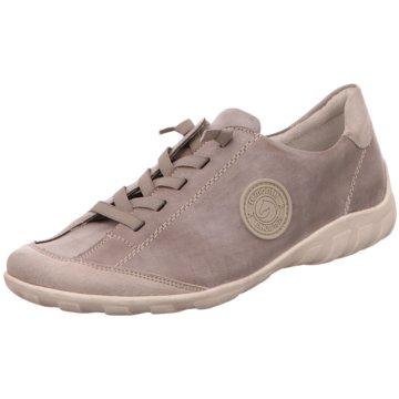 Remonte Komfort SchnürschuhSneaker grau