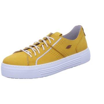 camel active Sneaker Low gelb