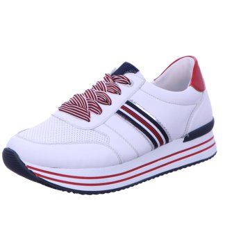 Remonte Plateau Sneaker weiß