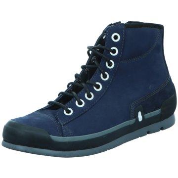 Wolky Komfort Stiefelette blau