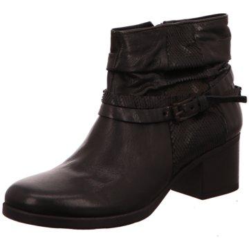 Mjus Klassische Stiefelette schwarz