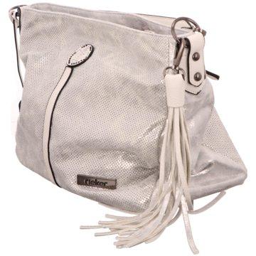 Rieker Taschen Damen silber