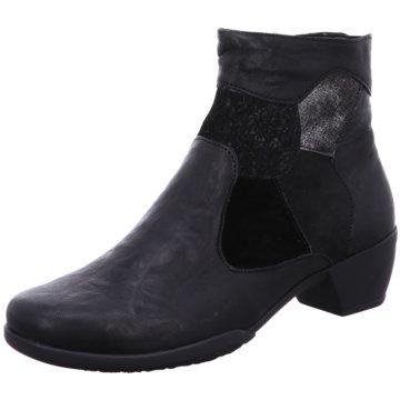 Fidelio Klassische Stiefelette schwarz
