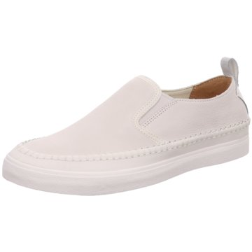 Clarks Komfort Slipper weiß