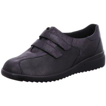 Solidus Komfort Slipper schwarz