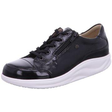 FinnComfort Sportlicher Schnürschuh schwarz