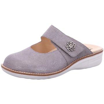 Ganter Komfort Pantolette silber