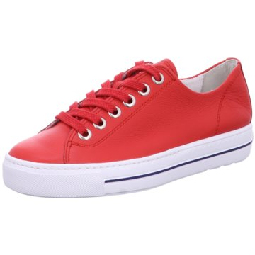 Paul Green Sportlicher SchnürschuhSneaker rot