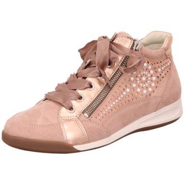 ara Komfort Stiefelette rosa