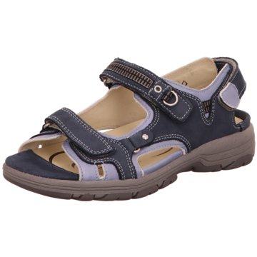 Waldläufer Sandale blau