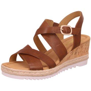 Gabor comfort Top Trends SandalettenSandale braun