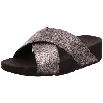 FitFlop Komfort Pantolette grau