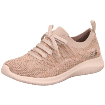 Skechers Sportlicher Schnürschuh beige