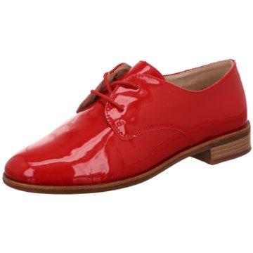 Remonte Eleganter Schnürschuh rot