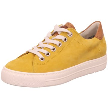 Paul Green Sneaker Low gelb