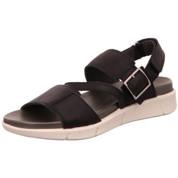 Legero Komfort Sandale schwarz