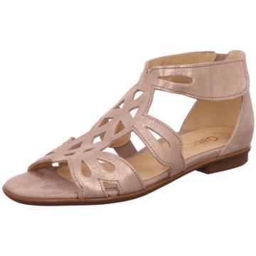 FINN COMFORT DAMEN Sandaletten Sandalen Schuhe * GOLD