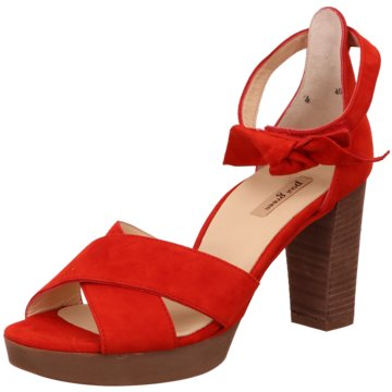 Paul Green Sandalette rot