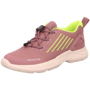 Legero Sportlicher Schnürschuh rosa