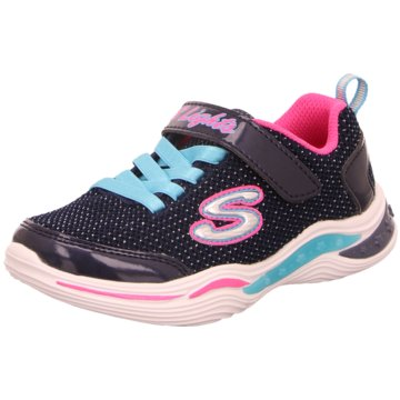 Skechers Sneaker LowS Lights Power Petals Glitzy Petals blau