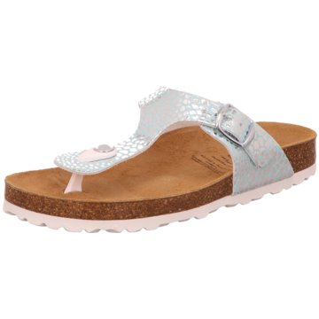 Lico Offene Schuhe silber
